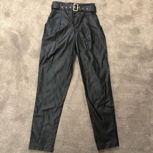 Windsor faux leather pants